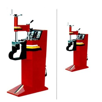 Pneumatic vulcanizing tire machine