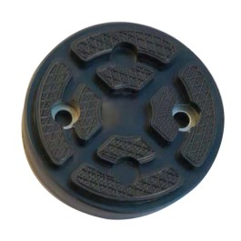 Round Lift Pad Assembly For 2-Post Truck and Car Lifts