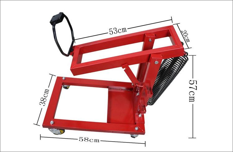 Air impact crane